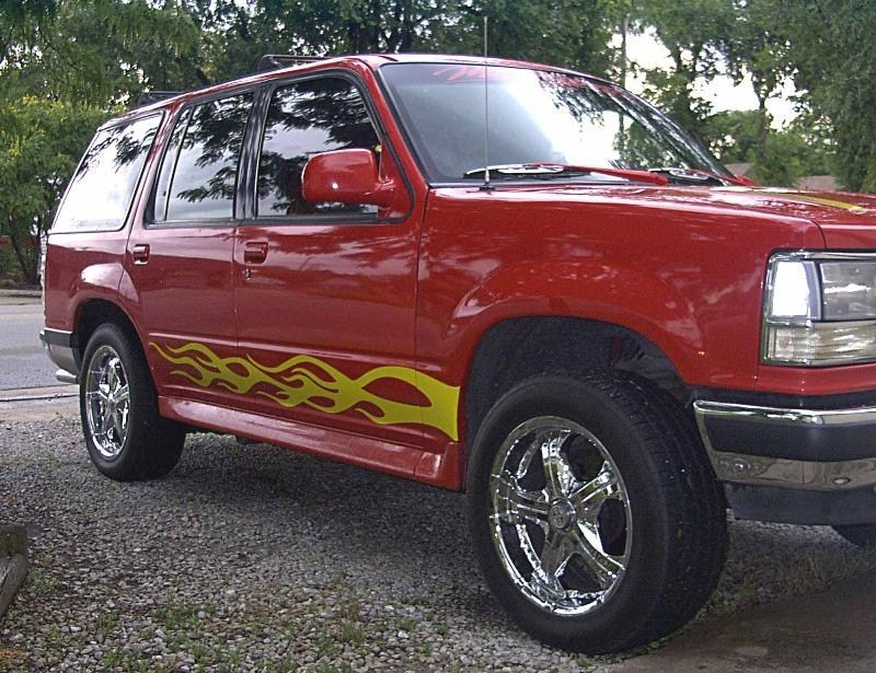 RED HOT Xs 1993 Ford  Explorer photo
