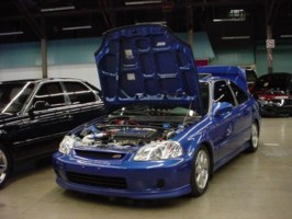 twisteds 1999 Honda Civic SI photo thumbnail