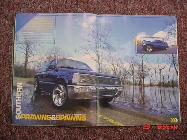 Fastbagmazs 1993 Mazda B2200 photo