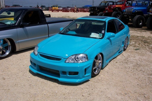 ShavedBlus 1999 Honda Civic photo