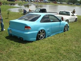 ShavedBlus 1999 Honda Civic photo thumbnail