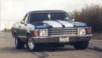 j fo erics 1972 Chevy El Camino  photo thumbnail