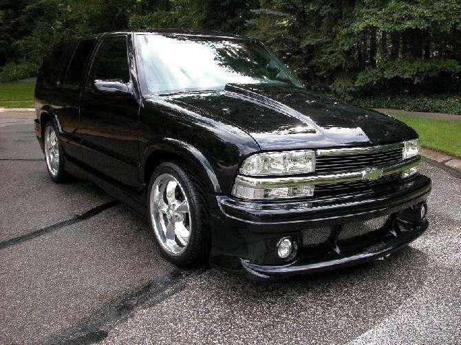 Blazer Xs 1998 Chevrolet Blazer photo