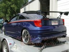 blue dragons 2001 Toyota Celica photo thumbnail