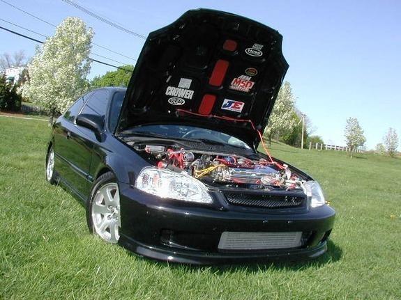 sicksivics 2000 Honda Civic SI photo
