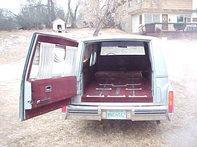 trevor gs 1982 Cadillac Hearse photo