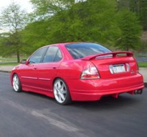 CHODAs 2003 Nissan Sentra photo thumbnail