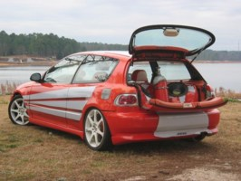 Silvercavalier420s 1992 Honda Civic Hatchback photo thumbnail