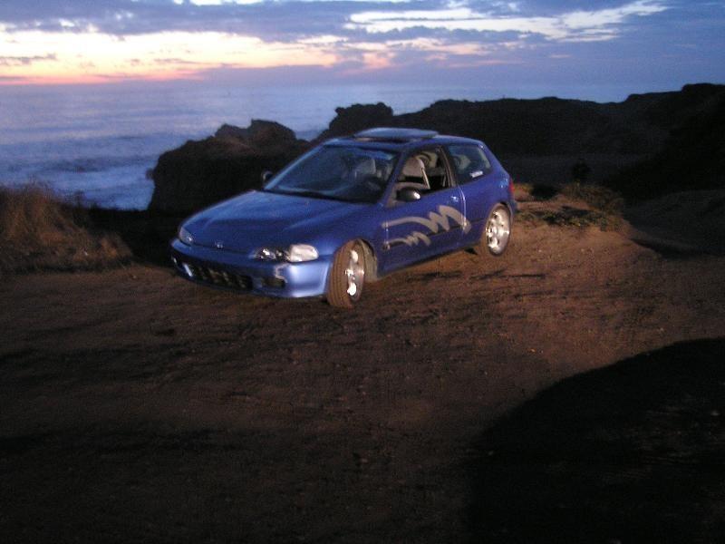 yamaha125s 1992 Honda Civic Hatchback photo