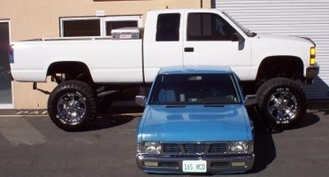 big ballins 1995 Chevy C/K 1500 photo thumbnail