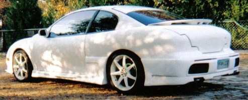 White Car ROBs 1995 Pontiac Sunfire photo thumbnail