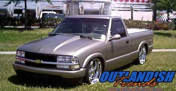 OTFL S10on20Ss 1998 Chevy S-10 photo