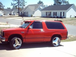visionstimes 1989 Chevy S-10 Blazer photo thumbnail