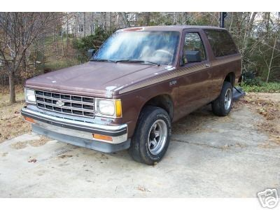 Shevs 1988 Chevy S-10 Blazer photo