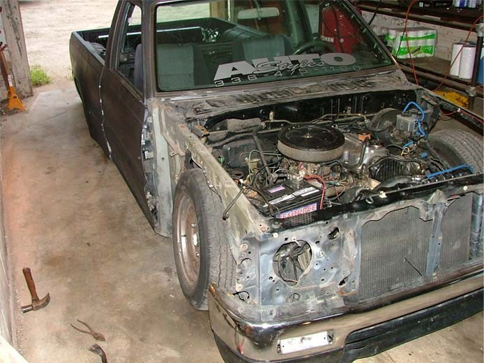FlatBlackSupras 1991 Mazda B2200 photo