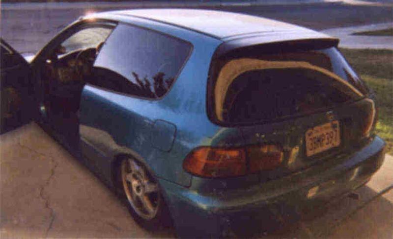 soggy tacoss 1995 Honda Civic Hatchback photo