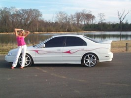 PinkHondagirls 1995 Honda Accord photo thumbnail