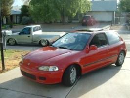 rice and beanss 1993 Honda Civic Hatchback photo thumbnail
