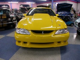 BLUE BLOODs 1995 Ford Mustang photo thumbnail