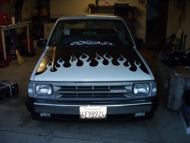 projekttekneks 1989 Mazda B2200 photo