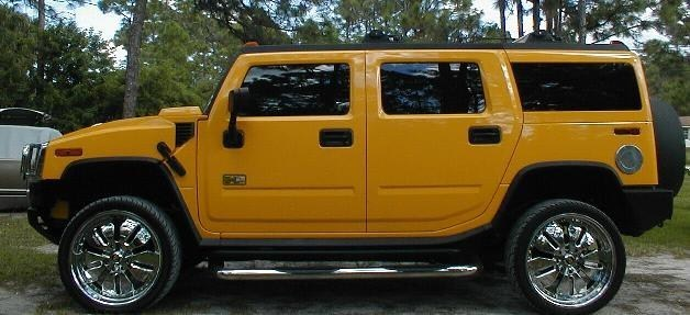 Duckns 2003 GMC Hummer photo