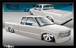 68meets72s 2001 Chevy S-10 cover photo