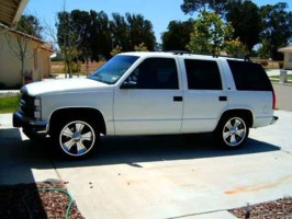 SDfans 1998 Chevrolet Tahoe photo thumbnail