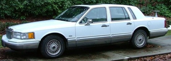 FlatBlackSupras 1991 Lincoln Town Car photo thumbnail