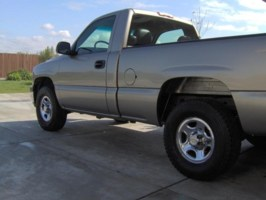 AONS10s 2000 Chevrolet Silverado photo thumbnail