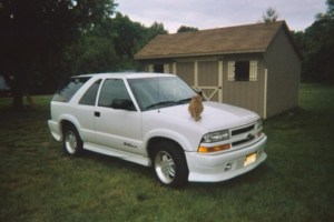 moeskizzles 2001 Chevy Blazer Xtreme photo thumbnail