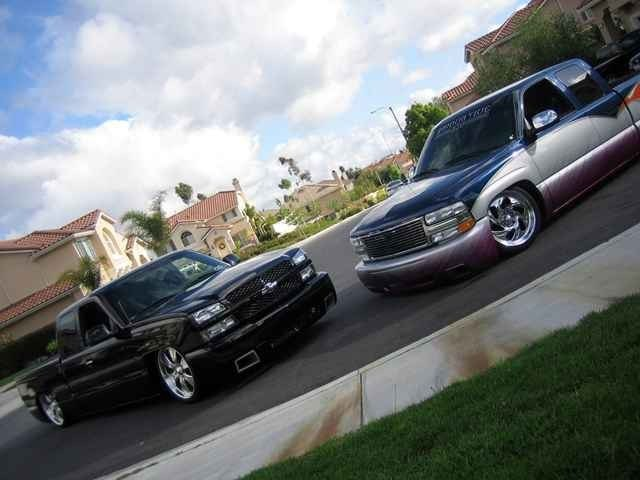 Sick Boys 2003 Chevrolet Silverado photo