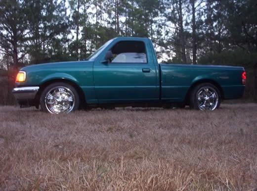 Slammed Rangers 1993 Ford Ranger 1 Views Today