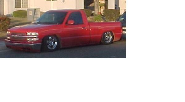 Red2000s 2000 Chevrolet Silverado photo