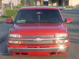 Red2000s 2000 Chevrolet Silverado photo thumbnail