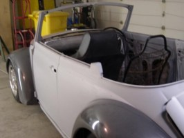 naked tones 1969 Volkswagen Bug photo thumbnail
