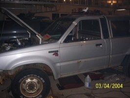 capples 1988 Mazda B2600 photo thumbnail