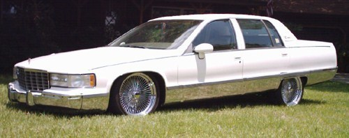 lowrthnyourzs 1993 Cadillac Fleetwood Brougham photo