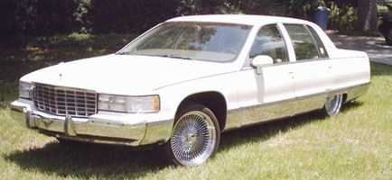 lowrthnyourzs 1993 Cadillac Fleetwood Brougham photo thumbnail