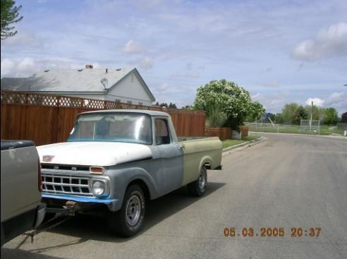 shavedaccord94s 1962 Ford  F/S P/U photo