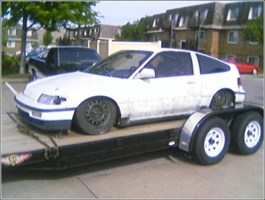 dragginbaggeds 1991 Honda CRX photo thumbnail