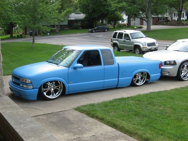 Draggin22ss 2001 Chevy S-10 photo