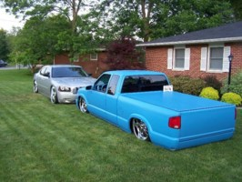 Draggin22ss 2001 Chevy S-10 photo thumbnail