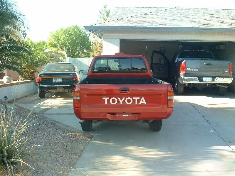 MT foe lifes 1994 Toyota 2wd Pickup photo