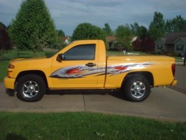 Yellow Fevers 2004 Chevy Colorado photo thumbnail