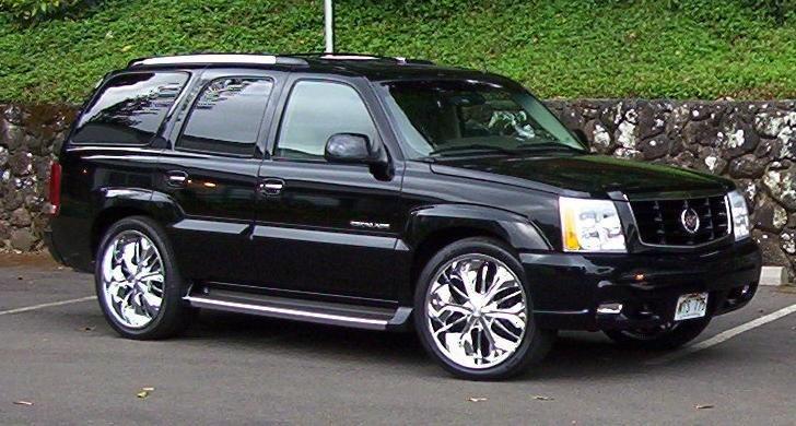 pupukeabigboys 2002 Cadillac Escalade photo