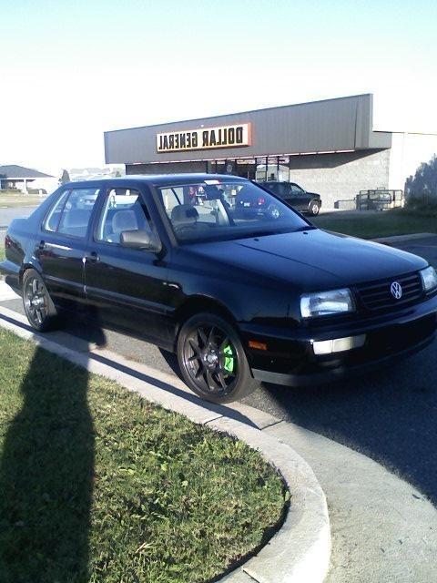 MONSTERnotchedMAZDAs 1996 Volkswagen Jetta photo