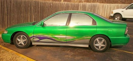 Green Monsters 1996 Honda Accord photo thumbnail
