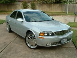 HoustonsSinners 2001 Lincoln LS cover photo