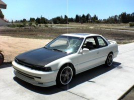 layedout95s 1991 Honda Accord photo thumbnail