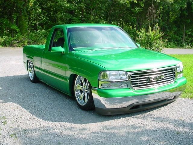 Green n Means 2000 GMC 1500 Pickup photo